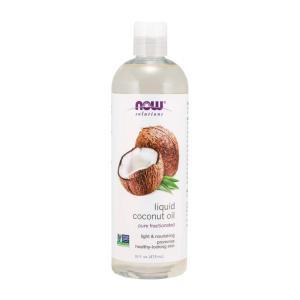 ナウフーズ リキッドココナッツオイル 473ml 【NOW FOODS】Pure Fractionated Liquid Coconut Oil 473ml|supla