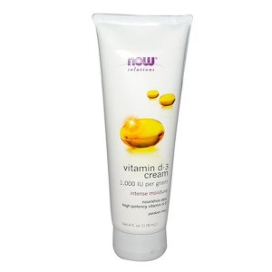 ナウフーズ ビタミンD-3クリーム、118 ml【NOW FOODS】Vitamin D-3 Cream, 4 fl oz|supla