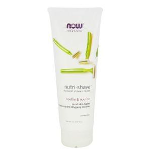 ナウフーズ ニュートリシェイブ ナチュラルシェービングクリーム237 ml【Now Foods】Nutri-shave natural shave cream Net 8oz 237 mL|supla
