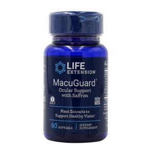 ライフエクステンション マーキュリーガードオキュラサポート 60ソフトジェル Life Extension MacuGuard Ocular Support Eye Health Formula supla