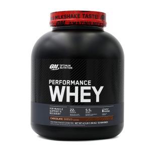 オプティマムニュートリション パフォーマンスホエイプロテイン チョコレートシェイク味 1.95kg OPTIMUM NUTRITION Performance Whey Protein Chocolate Shake|supla