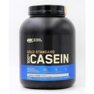 オプティマムニュートリション 100%カゼインプロテイン クッキーアンドクリーム味 1.82kg 4LB optimum nutrition casein|supla