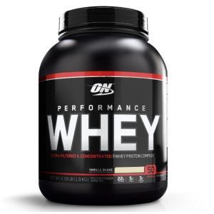 オプティマムニュートリション パフォーマンスホエイプロテイン バニラシェイク味 1.9kg Optimum Nutrition Performance Whey Protein Vanilla Shake|supla