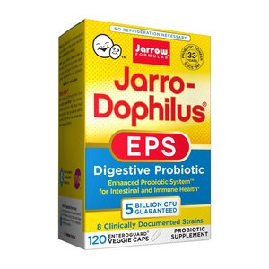 ジャロードフィラス EPS 120錠【Jarrow Formulas】Jarro-Dophilus EPS 5 Billion 120 Veggie Caps|supla