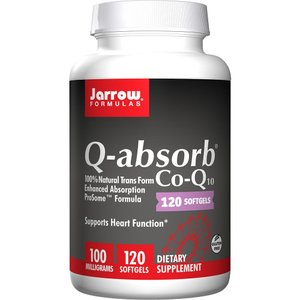 コエンザイムQ10、 100 mg、ソフトジェル120 錠【Jarrow Formulas】Q-absorb Co-Q10 100mg 120 softgels|supla