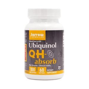 ジャロウフォーミュラ QH アブゾーブ 100 mg 60 ソフトジェル【Jarrow Formulas】QH-absorb 100 mg 60 softgels|supla