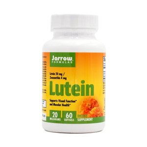 ジャローフォーミュラ ルテイン 20 mg 60 ソフトジェル【Jarrow Formulas】Lutein 20 mg 60 softgels|supla