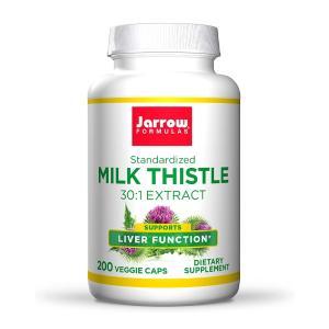 ジャロウフォーミュラ ミルクシスル 150mg 200錠【Jarrow Formulas】Milk Thistle 150 mg 200 Capsules|supla