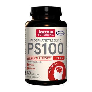 ジャローフォーミュラズ PS-100 ホスファチジルセリン 100mg 120カプセル【Jarrow Formulas】Phosphatidylserine 120 caps supla