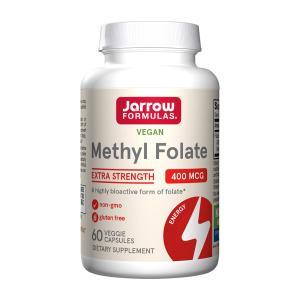 ジャローフォーミュラ メチルフォレート 400 mcg 60 ベジカプセル【Jarrow Formulas】Methyl Folate 400 mcg 60 Vegetarian Capsules supla
