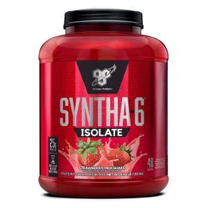 ビーエスエヌ シンサ6アイソレート ストロベリーミルクシェイク味 1.82 kg【BSN】Syntha-6 Isolate, Strawberry Milkshake 4.02 lb|supla