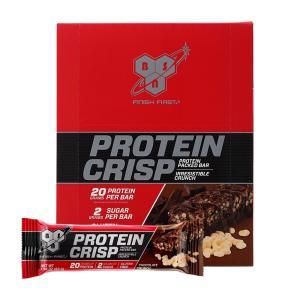 ビーエスエヌ シンサ6プロテインクリスピーバー チョコレートクランチ味 12本入り BSN Syntha-6 Protein Crisp, Chocolate Crunch Flavor 12bar|supla