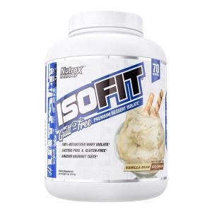 ニュートレックスリサーチ ISOFITデザート分離バニラビーン(2261 g) Nutrex Research ISOFIT  Dessert Isolate Vanilla Bean 5 lb|supla