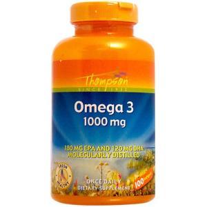 オメガ3 1000mg (EPA・DHA含有) 100粒|suplinx