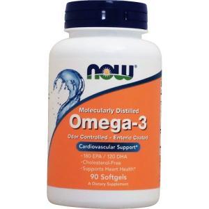 オメガ3 サプリ EPA&DHA 90粒 コレステロールフリー