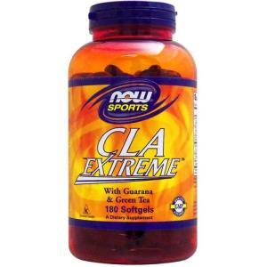 [ お得サイズ ] CLAエクストリーム(スーパー共役リノール酸、ガラナ、グリーンティー配合) 180粒 NOW|suplinx