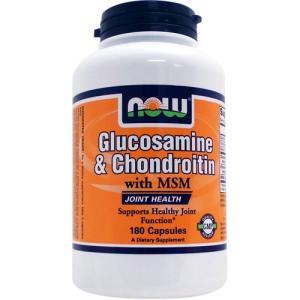 (お得サイズ) グルコサミン コンドロイチン + MSM 180粒 suplinx