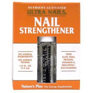 ウルトラネイルズ ネイルストレングスナー 7.4ml (爪美容液 たんぱく、ビタミン&5つの植物成分配合)|suplinx