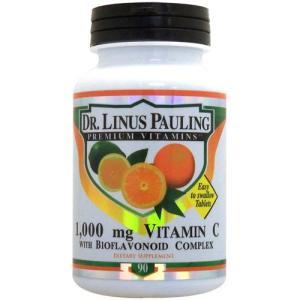 ライナス ポーリング博士のビタミンC 1000mg + バイオフラボノイド 90粒|suplinx