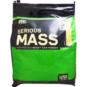 (超大容量5.4kg) シリアスマス ウェイトゲイナー 5.44kg バニラ (オプティマム/オプチ...