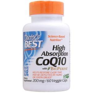 高吸収コエンザイムQ10(CoQ10) 200mg 60粒...