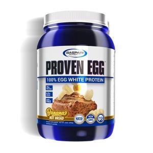 プルーブン エッグ(100%エッグプロテイン)バナナナッツブレッド 900g Proven Egg Gaspari Nutrition|suplinx
