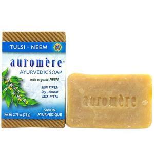 アーユルベーダソープ トゥルシーニーム(乾燥肌/洗顔)