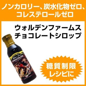 【当店限定クーポン】ウォルデンファームス チョコレートシロップ(ノンカロリー) 355ml