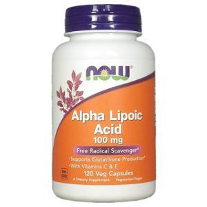 アルファリポ酸 100mg+ビタミンC&E 120ベジカプセル