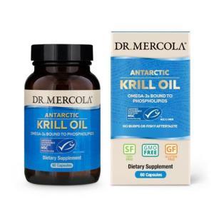 DHA EPA サプリ クリルオイル 60カプセル Dr. Mercola (ドクターメルコラ) supplefactory