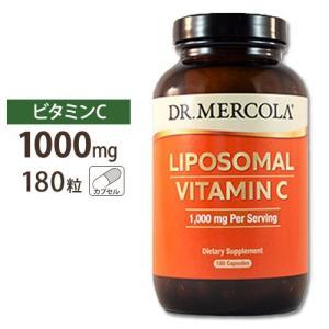 リポソームビタミンC 1000mg 180カプセル Dr.Mercola (ドクターメルコラ) supplefactory