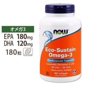 オメガ3(EPA/DHA) 180粒  NOW Foods(...
