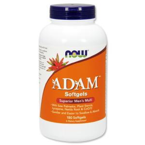 ※お一人様1点限り※ アダム メンズマルチビタミン 180粒 NOW Foods ナウフーズ