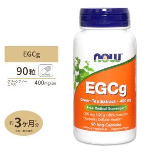 EGCg エピガロカテキンガレート グリーンティーエキス 90粒 NOW Foods ナウフーズ