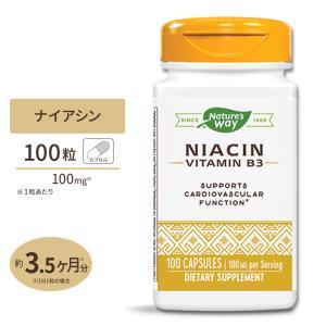 ナイアシン (ビタミンB3) 100mg 100粒 Nature's Way(ネイチャーズウェイ)|supplefactory