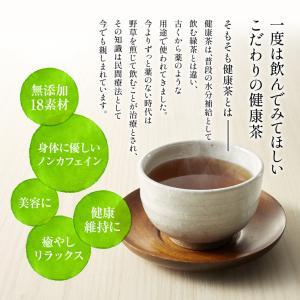 お中元 ギフト 中元ギフト 御中元 食べ物 健成の茶 18種 お得な3本セット|suppleherb|02