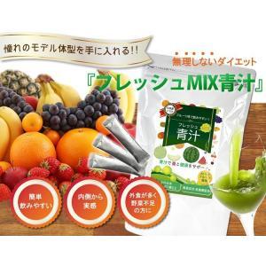 フルーツ青汁 フレッシュMIX青汁 30包  80種類以上の酵素と青汁 乳酸菌プラス/難消化性デキストリン/酵素/乳酸菌/フルーツ青汁|supplement-cafe|06