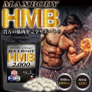MAX BODY HMB エイチエムビー HMBを2000mg配合!1袋に業界トップクラス さらにBCAA配合 supplement-cafe 02