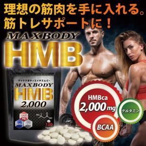 MAX BODY HMB エイチエムビー HMBを2000mg配合!1袋に業界トップクラス さらにBCAA配合 supplement-cafe 04