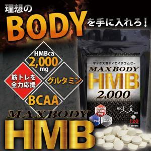 MAX BODY HMB エイチエムビー HMBを2000mg配合!1袋に業界トップクラス さらにBCAA配合 supplement-cafe 05