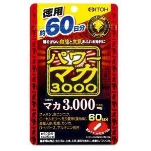 井藤漢方製薬 パワーマカ3000 徳用 120粒...
