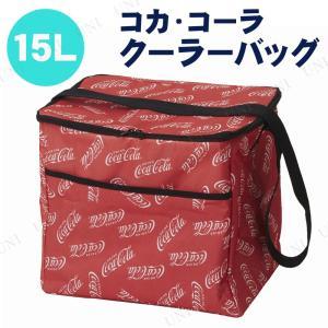 Coca-colaのロゴが全面に入った目をひくデザインのクーラーバッグです。容量15Lでたっぷり収納...
