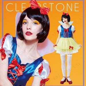 ファンタジーの定番!女の子の憧れの白雪姫のコスチュームです。ふんわり広がるチュチュ風のスカートが可愛...