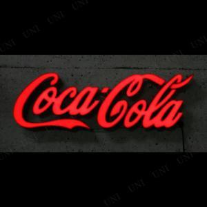 デザイン性が高く印象的なコカ・コーラロゴをLEDで点灯するチャンネル文字(立体)にした壁掛けサインで...