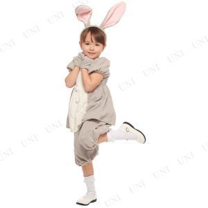 ディズニー映画「バンビ」で知られる人気キャラクター、サンパー/とんすけの子供用コスチュームです。女の...