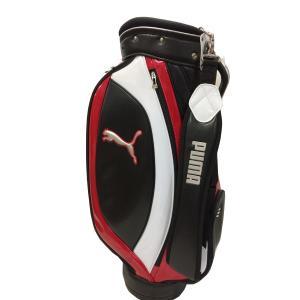 プーマゴルフ メンズ キャディバッグ CB Lite Cat 15 03:ブラック×レッド サイズ:...