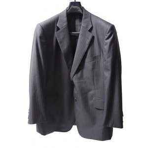 ダンヒルシングルスーツ E5 1ボタン キャンセル品 ブラック・グレー 未使用品|supplystore