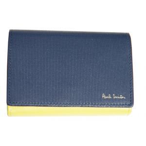ポールスミス Paul Smith 小銭入れ カードケース ネイビー C20430 新品|supplystore