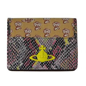 Vivienne Westwood ヴィヴィアンウエストウッド パスケース カードケース 2面パス イエロー S361|supplystore