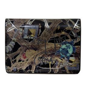 Vivienne Westwood ヴィヴィアンウエストウッド パスケース カードケース パテントレザー ブラック U161 新品正規品|supplystore